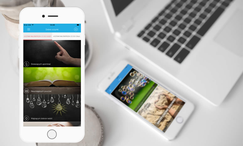 Aplikacja mobilna iOS Android Misericors